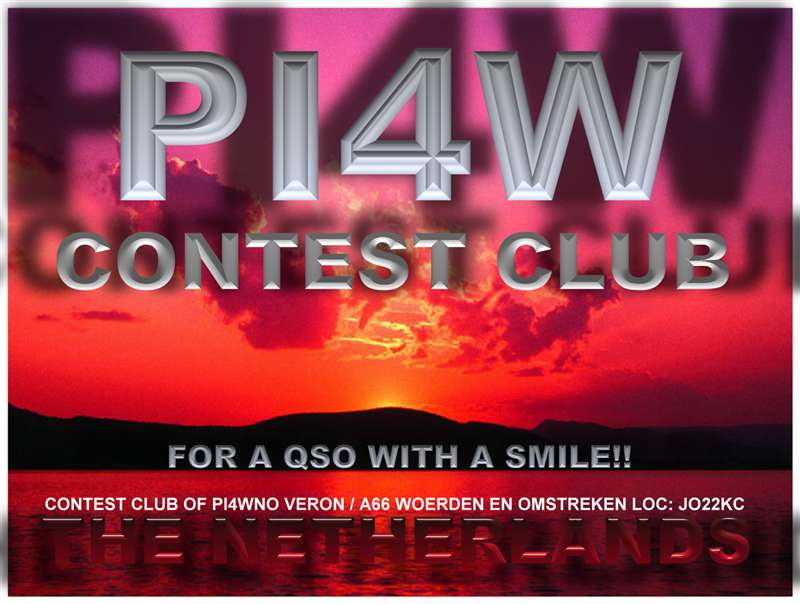 QSL image for PI4W