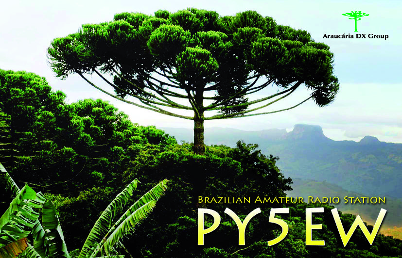 QSL image for PY5EW