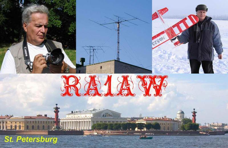 QSL image for RA1AW