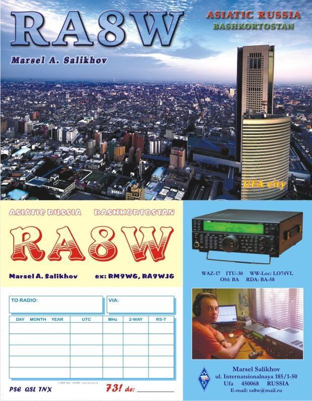 QSL image for RA8W