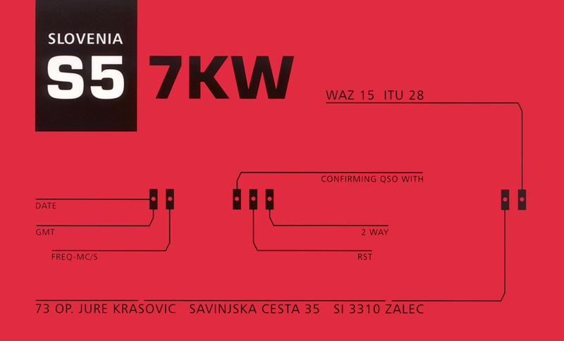 QSL image for S57KW