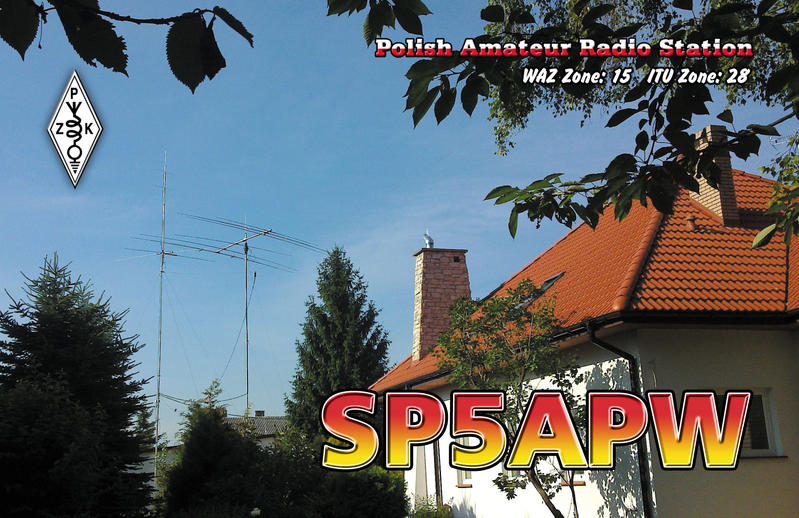 QSL image for SP5APW