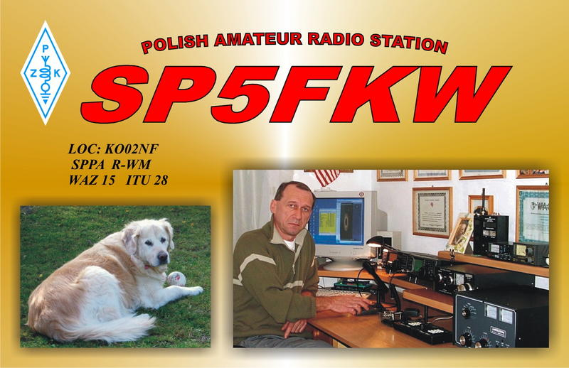 QSL image for SP5FKW