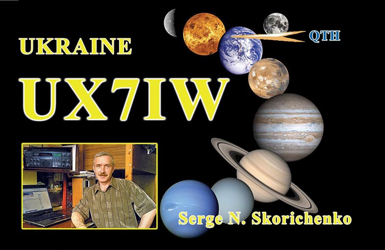 QSL image for UX7IW