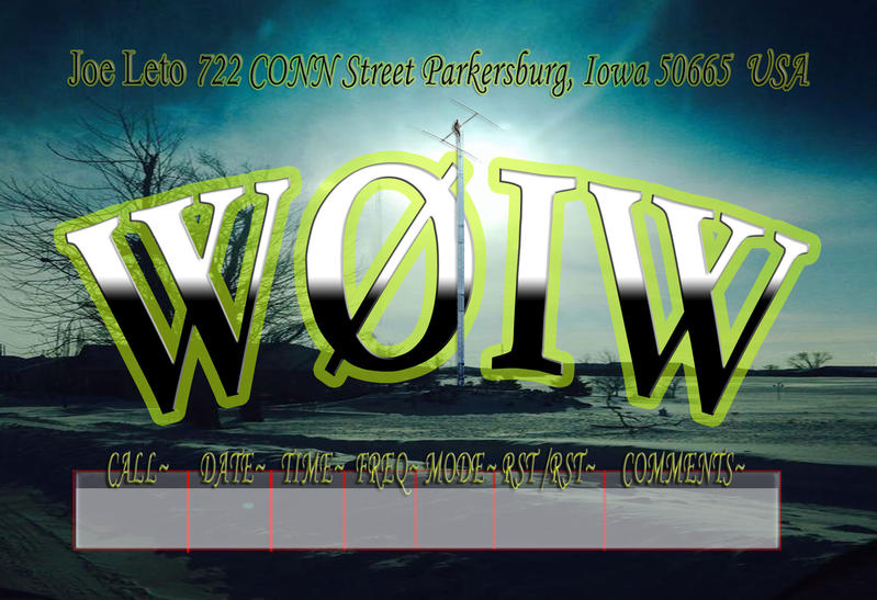 QSL image for W0IW
