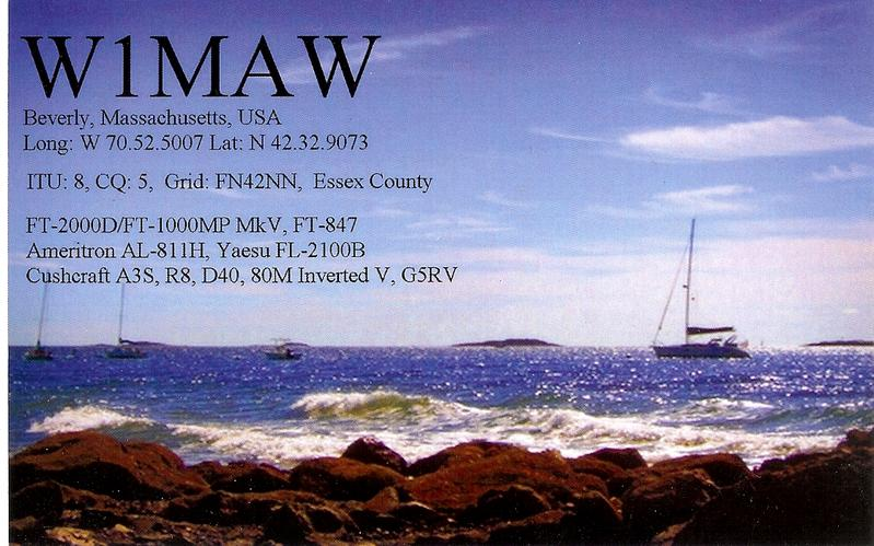 QSL image for W1MAW
