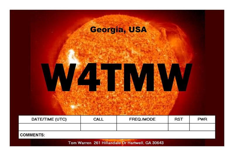 QSL image for W4TMW