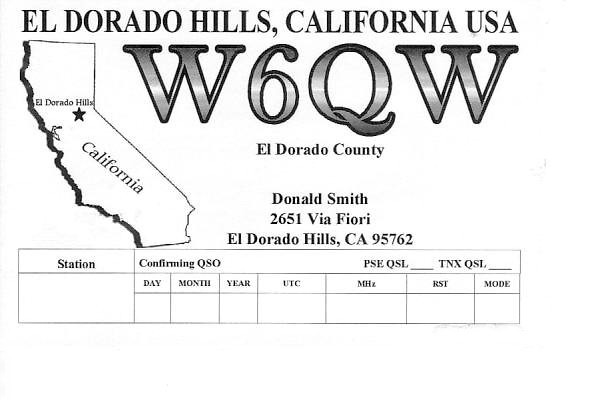 QSL image for W6QW