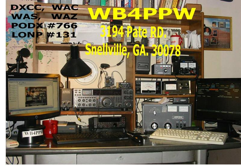 QSL image for WB4PPW