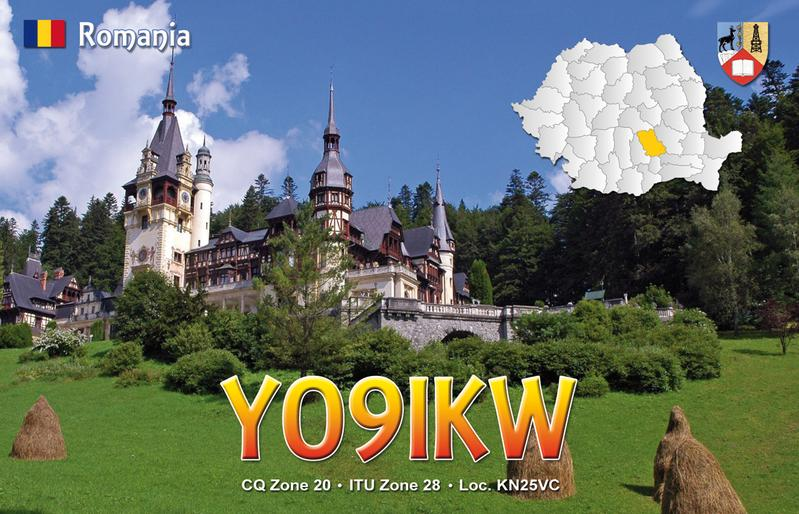 QSL image for YO9IKW