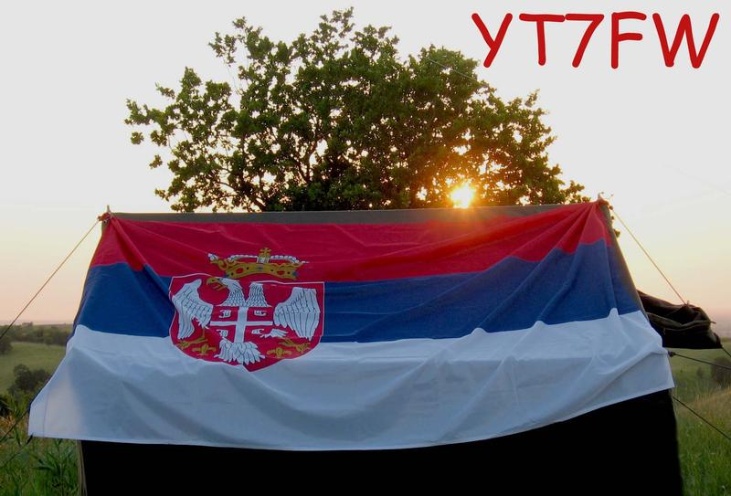 QSL image for YT7FW