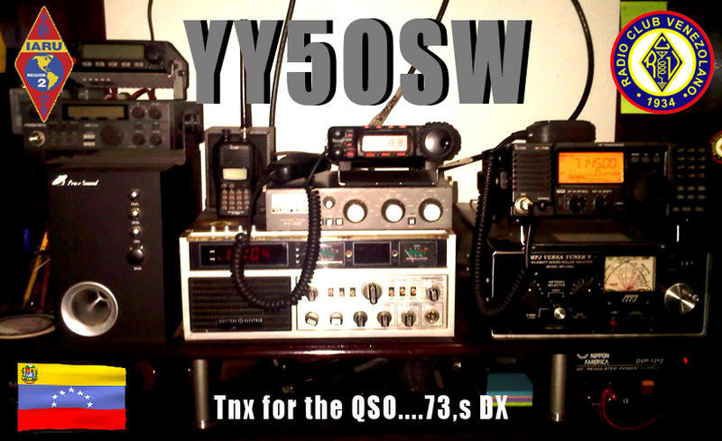 QSL image for YY5OSW