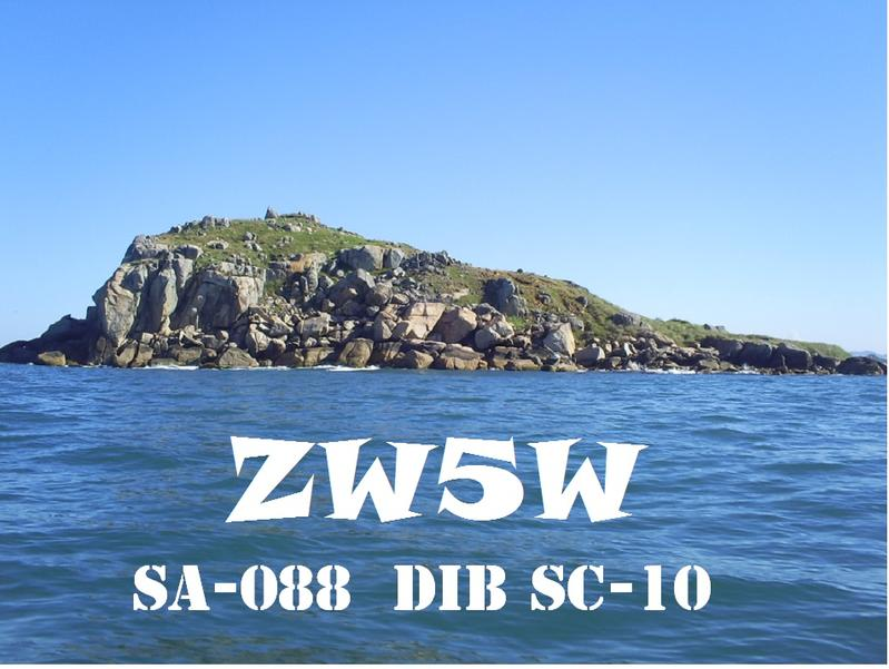 QSL image for ZW5W