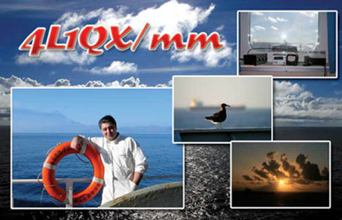 QSL image for 4L1QX