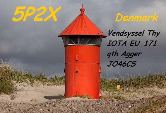 QSL image for 5P2X