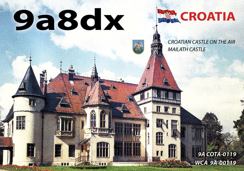 QSL image for 9A8DX