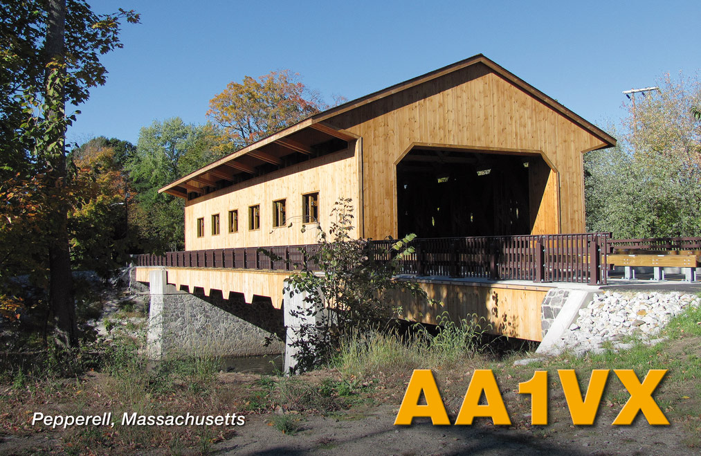 QSL image for AA1VX