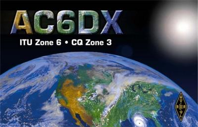 QSL image for AC6DX