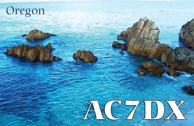 QSL image for AC7DX