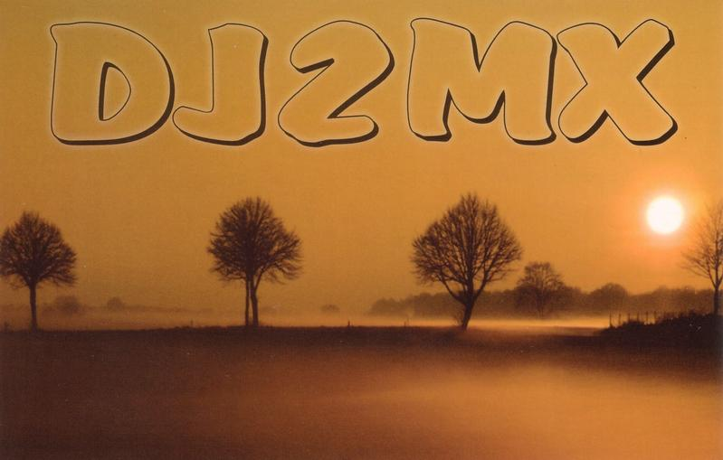 QSL image for DJ2MX