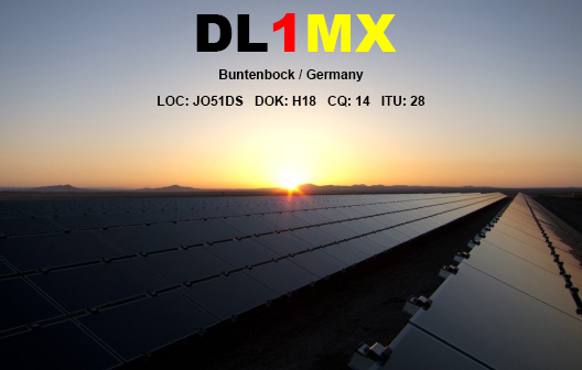 QSL image for DL1MX