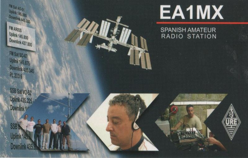 QSL image for EA1MX