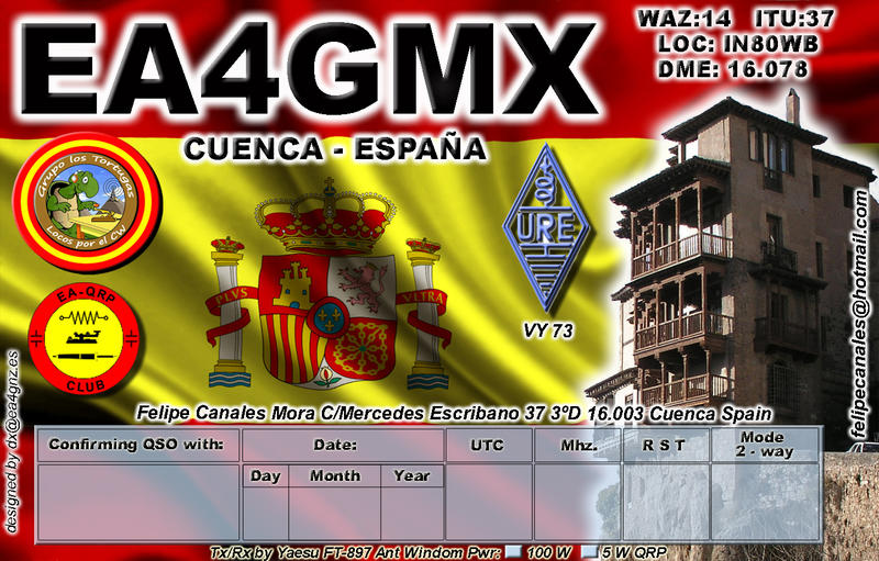 QSL image for EA4GMX