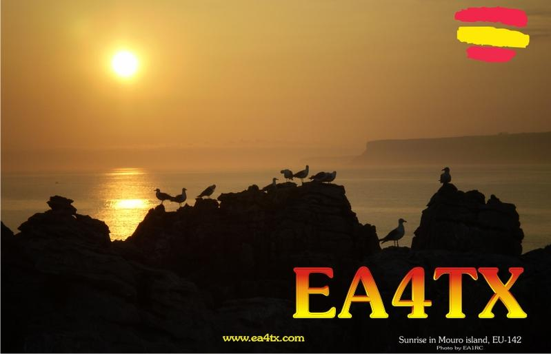 QSL image for EA4TX