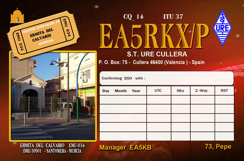 QSL image for EA5RKX