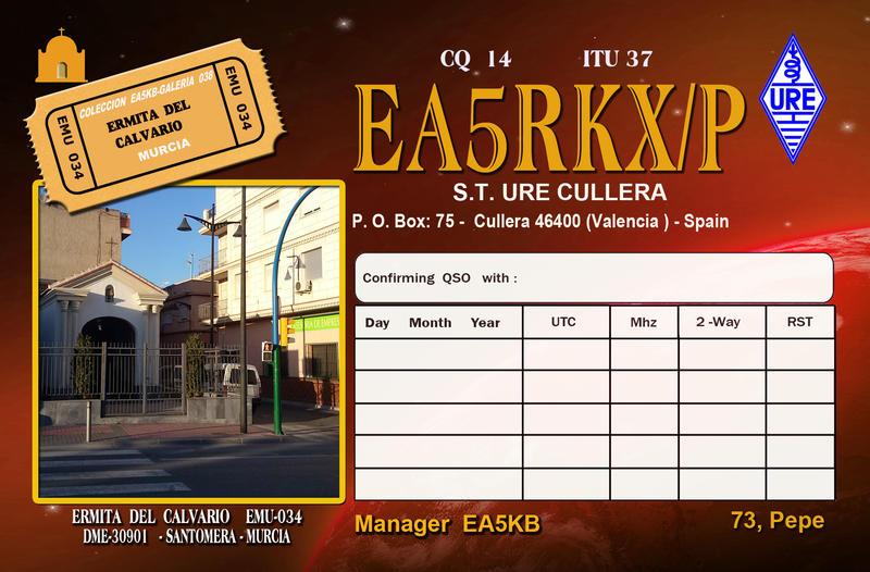 QSL image for EA5RKX