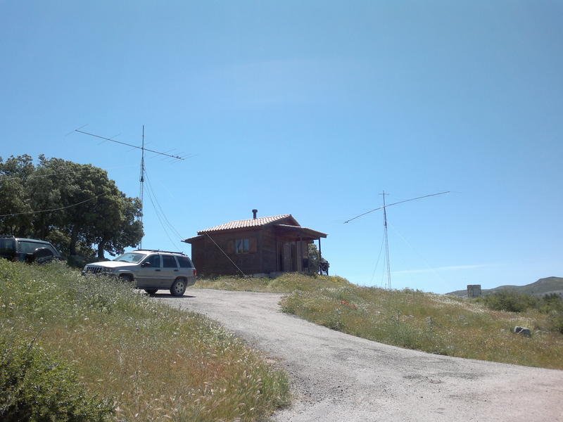 1800m asl - Iaru 6m contest set up. 5 and 9  ele LFA