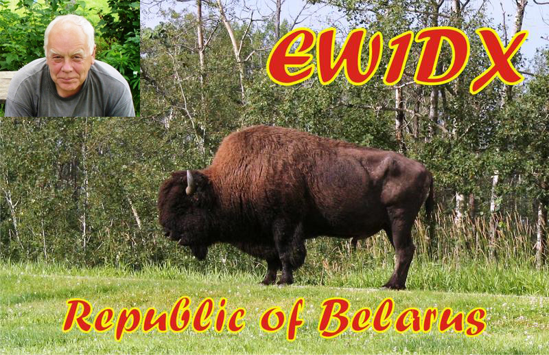 QSL image for EW1DX