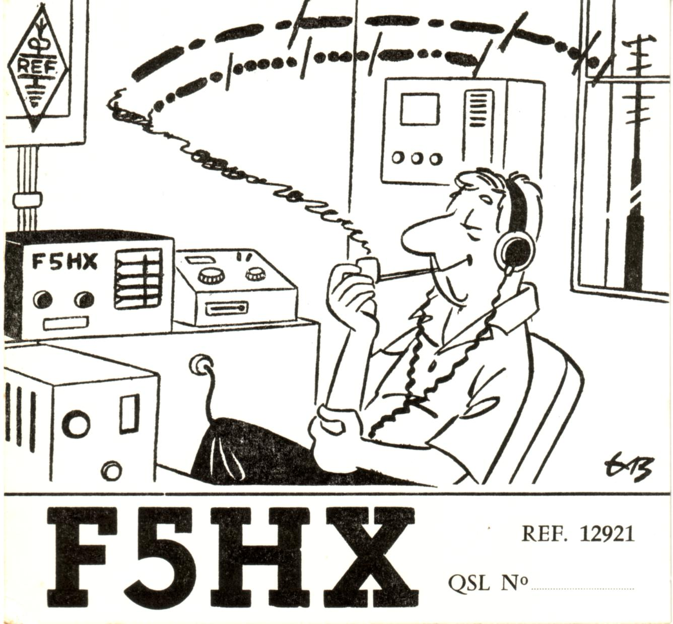 QSL image for F5HX
