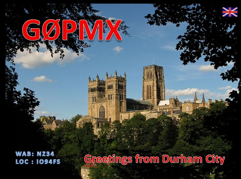 QSL image for G0PMX