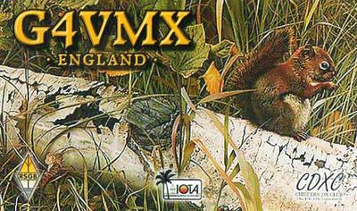 QSL image for G4VMX