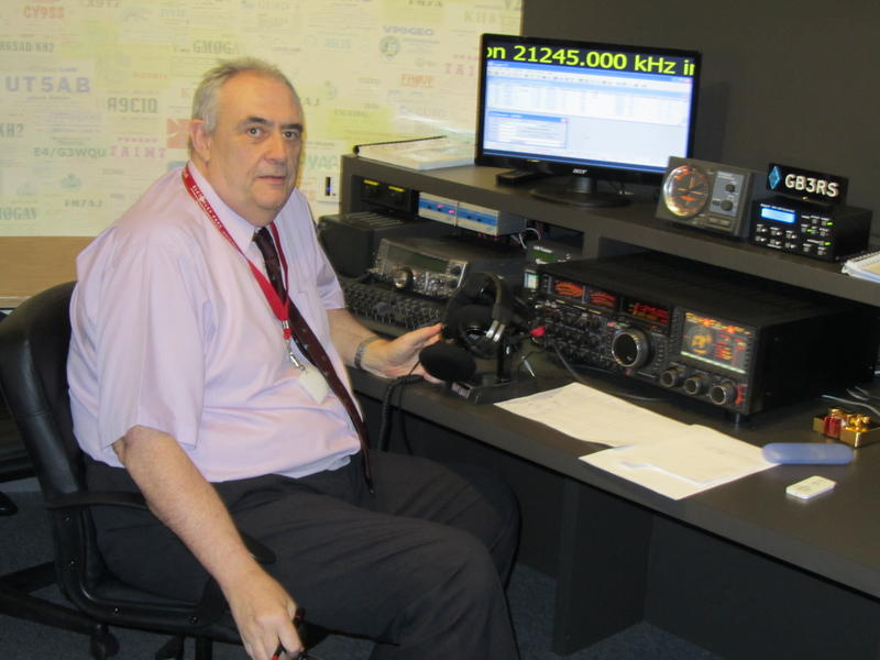 G4XEX working GB3RS at the RSGB National Radio Centre, Bletchley Park