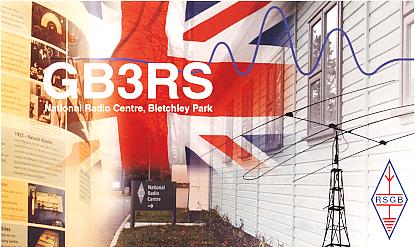 GB3RS QSL CARD