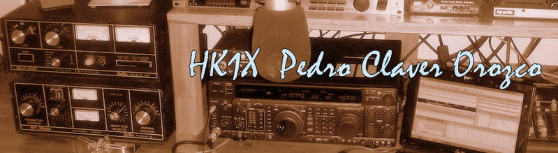 QSL image for HK1X