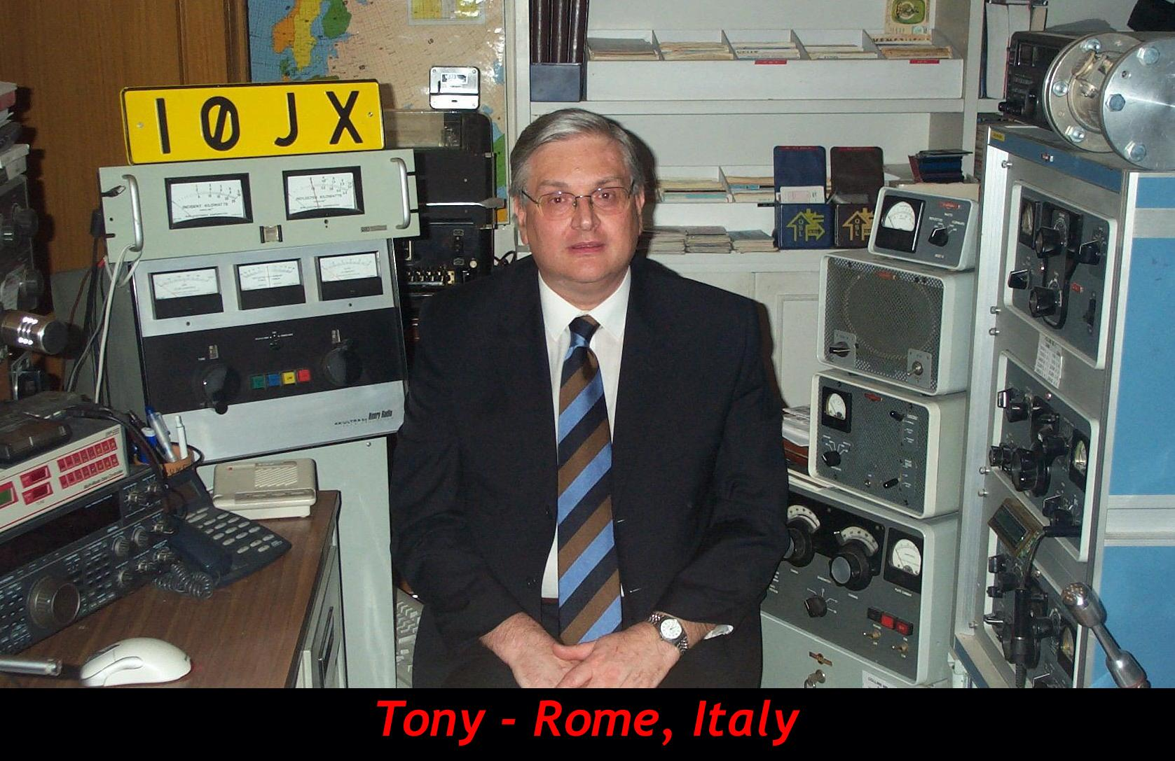 QSL image for I0JX
