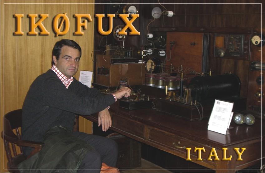 QSL image for IK0FUX