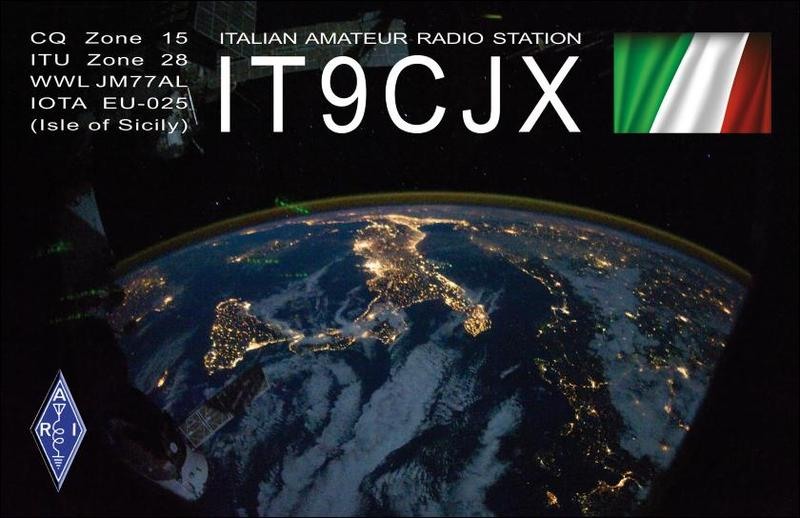 QSL image for IT9CJX