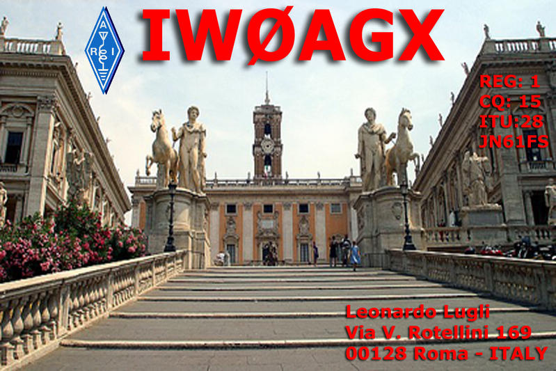 QSL image for IW0AGX