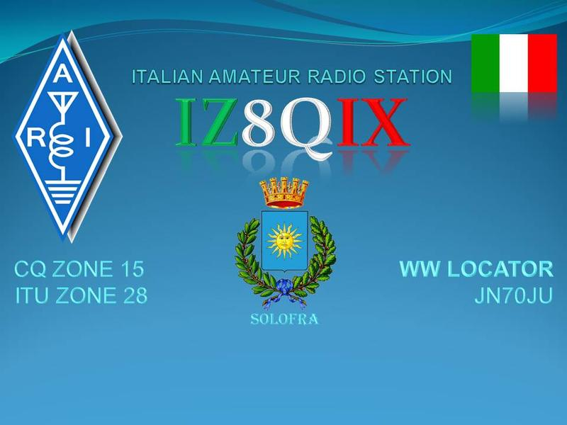 QSL image for IZ8QIX