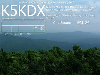 2005 VHF DX pedition in EM-24