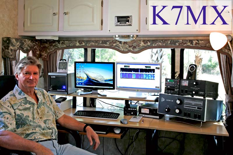 QSL image for K7MX
