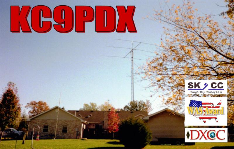 QSL image for KC9PDX