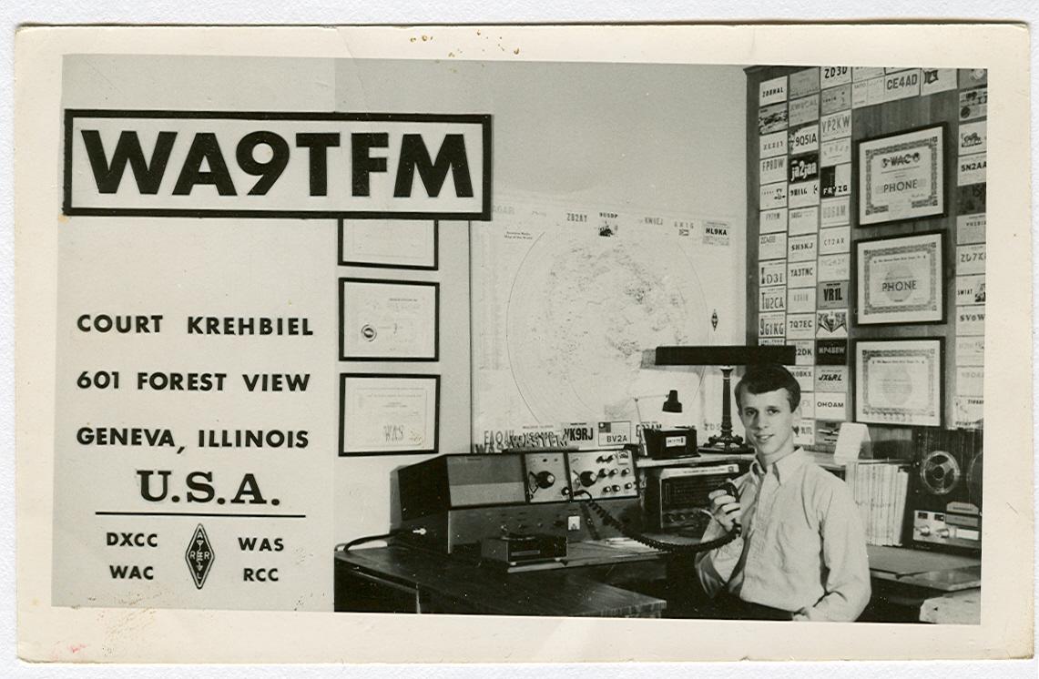 WA9TFM in 1969