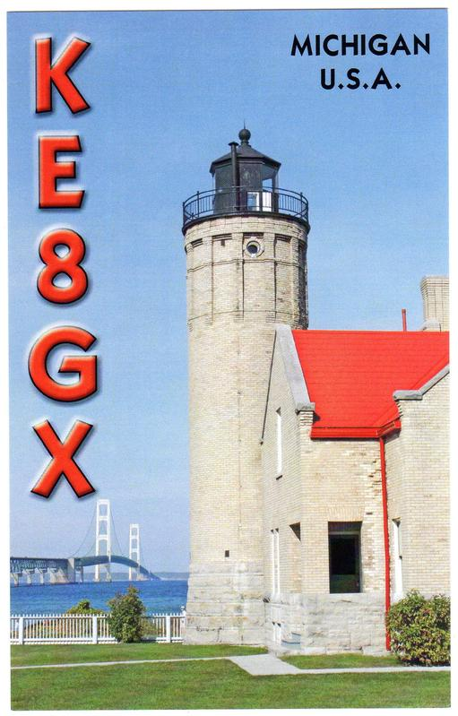 QSL image for KE8GX