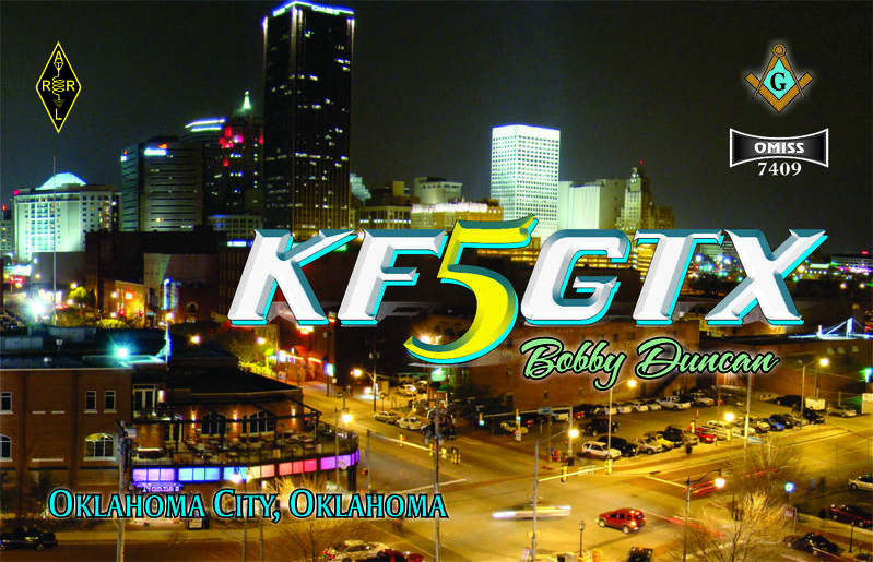 QSL image for KF5GTX