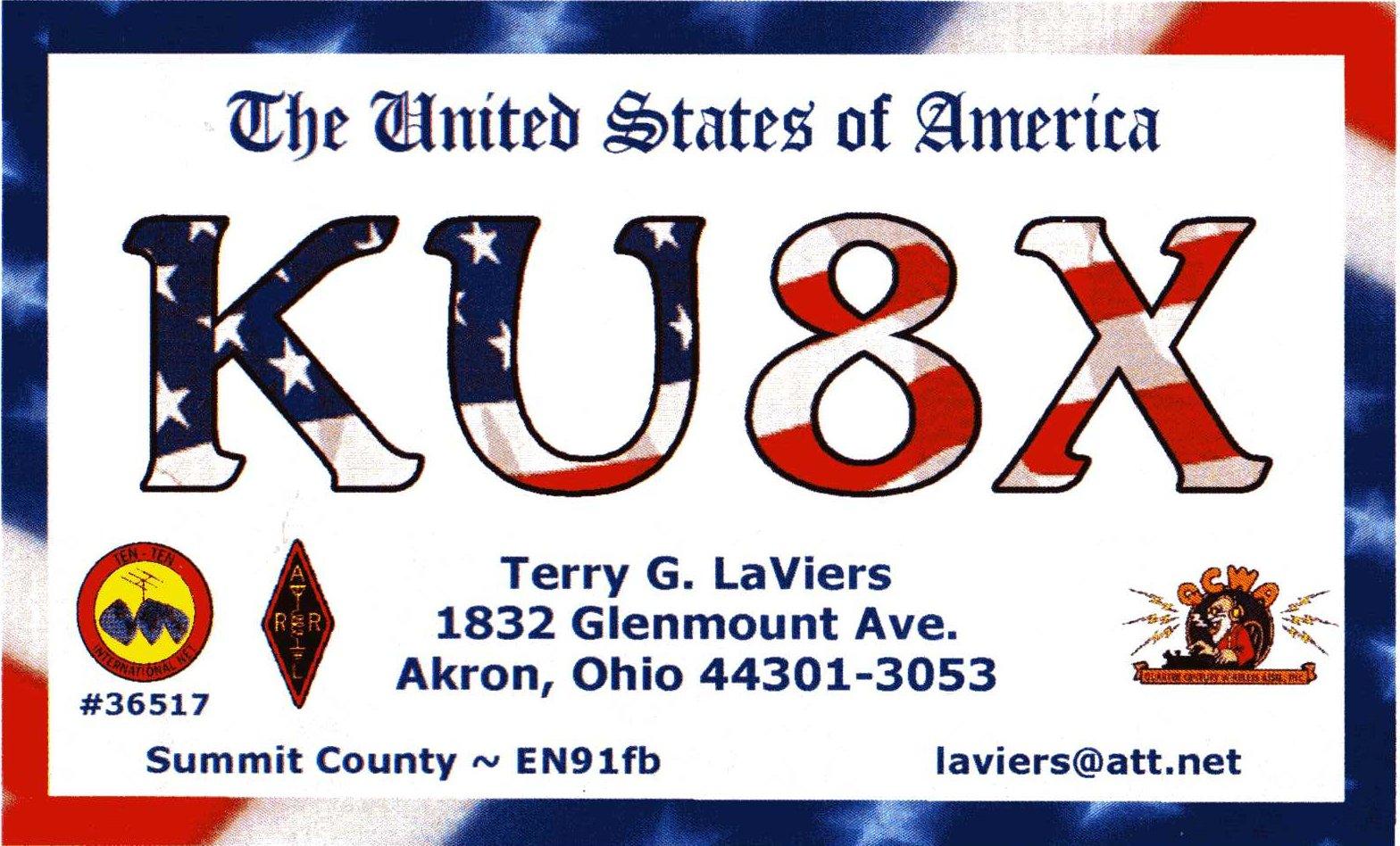 QSL image for KU8X